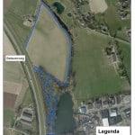 routekaart wandelpad speel- en oogstbos - batavenweg